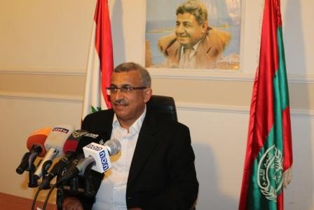 مباشر... بدأ الآن المؤتمر الصحفي لأمين عام التنظيم الشعبي الناصري الدكتور اسامة سعد حول أزمات الكهرباء والماء والنفايات