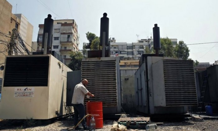 اعتصام لأصحاب المولدات الخاصة أمام وزارة الطاقة للمطالبة بـ'تسعيرة عادلة'