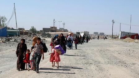 الأمم المتحدة: 100 ألف مدني محاصرون في الموصل ويستخدمون كدروع بشرية من قبل