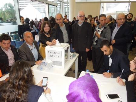 انتخاب نقيب للمهندسين و4 أعضاء لمجلس النقابة بطرابلس