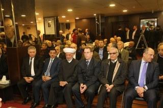 السفارة الفلسطينية أقامت حفلا تأبينيا لوالد دبور
