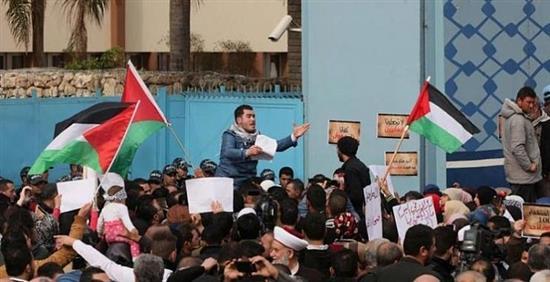 الوضع الاستشفائي الصحي الفلسطيني مع