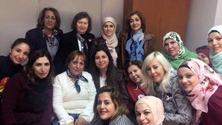 تكريم أمال رستم مديرة مدرسة الإصلاح المختلطة الرسمية في صيدا