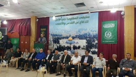 حماس والجهاد تستقبلان التهاني والتبريكات بشهداء الأنفاق في مخيم عين الحلوة