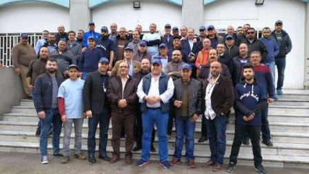 إضراب واعتصام لموظفي أوجيرو صيدا إجتجاجا على المماطلة في ملف السلسلة