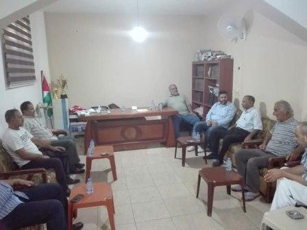 حركة حماس تستقبل الجبهة الشعبية في مخيم المية ومية