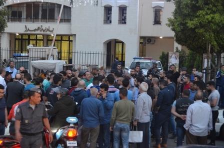 اعتصام في صيدا احتجاجا على قرار منع سير الدراجات الكهربائية
