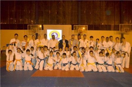 ترقية 140 لاعب ولاعبة كيوكوشنكاي في نادي الفنون الإنجيلية الرياضي