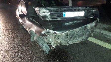 جريح في حادث سير ليلا على مدخل أوتوستراد الجنوب أمام حسبة صيدا