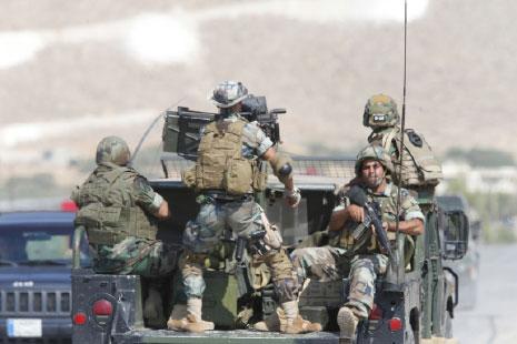 معركة الجرود: الجيش يحمي النازحين