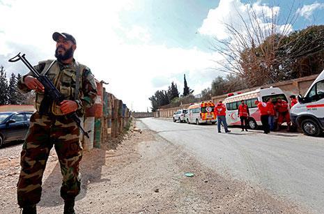 الجيش يتقدم في الغوطة على محورين