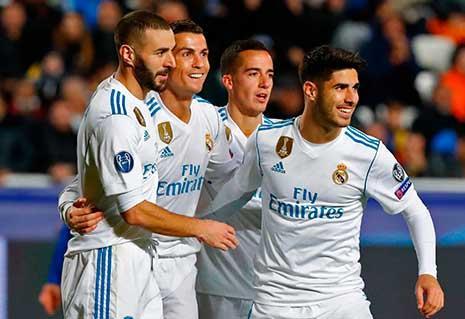 ريال مدريد يتألق أوروبياً