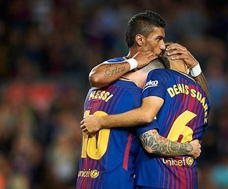 باولينيو مكسب لبرشلونة
