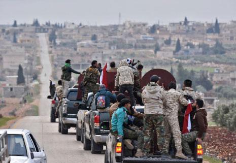 العلم السوري في عفرين: صفحةٌ جديدةٌ في مستقبل الشمال