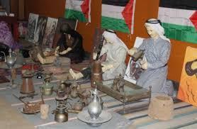 افتتاح معرض التراث الفلسطيني في القاعة الزجاجية برعاية الحص وكلمات أكدت التمسك بنهج المقاومة