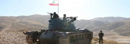 الجيش استهدف مركزا لداعش في جرود رأس بعلبك والقاع
