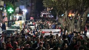 بالصور: مظاهرة حاشدة في صيدا رفضاً لزيادة الضرائب والفساد وسياسة الافقار والتجويع