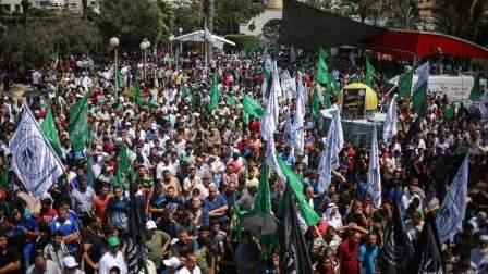 مسيرة في غزة رفضا للإجراءات الإسرائيلية في المسجد الأقصى