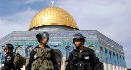 مسيرة في البداوي استنكارا لممارسات العدو بحق الاقصى وكلمات دعت الى الوحدة وانهاء الانقسام لحماية المقدسات