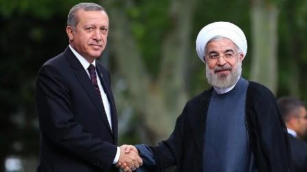 روحاني وأردوغان يؤكدان استعدادهما لفتح صفحة جديدة في العلاقات بين تركيا وإيران