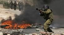 استشهاد فلسطيني برصاص العدو اسرائيلي في مواجهات في النبي صالح