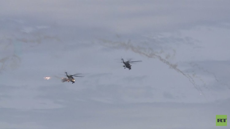 بالفيديو...قوات مشاة آلية تقصف أهدافها