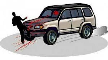 التحكم المروري: جريح نتيجة صدم محلة الشهابية في صور