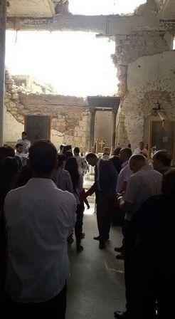 صلاة مشتركة للمسيحيين والمسلمين في الزبداني