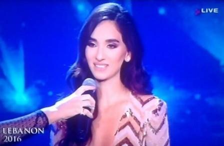 انتخاب ساندي تابت ملكة للجمال في لبنان للعام 2016