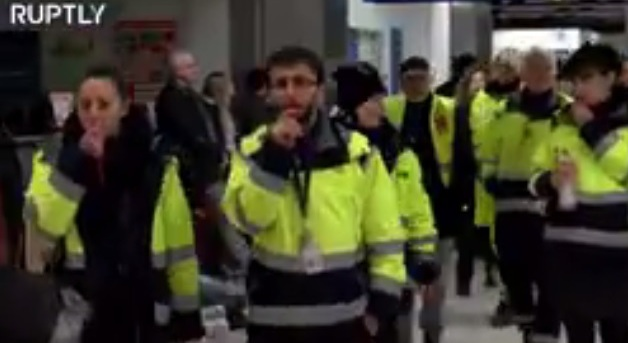 إضراب يلغي عشرات الرحلات الجوية في برلين