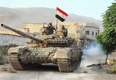الجيش السوري تابع تقدمه بريف حمص وسيطر على عدد من القرى