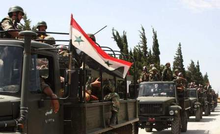 الجيش السوري يتابع تقدمه بريف حمص الشرقي ويسيطر على عدة مناطق
