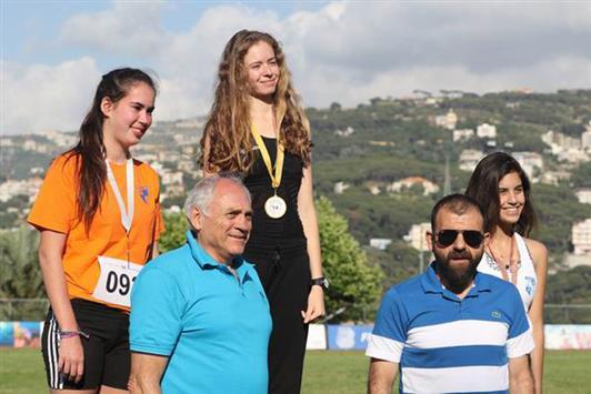 بطولة لبنان بألعاب القوى: رقمان قياسيان في اليوم الأول