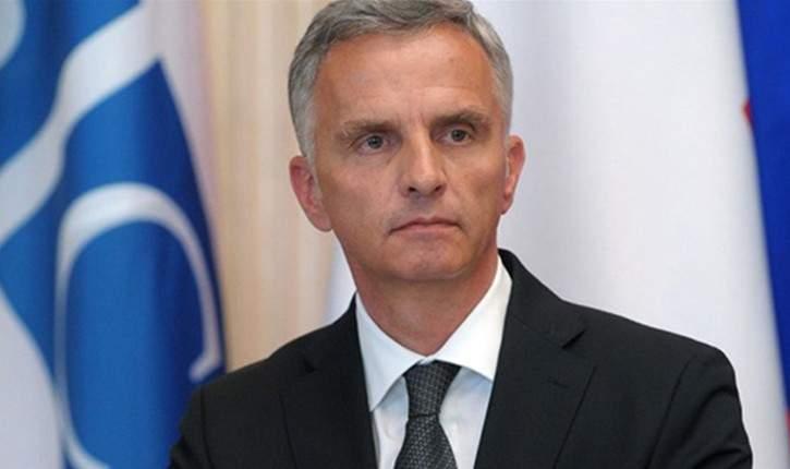 وزير الخارجية السويسري: مستعدون لاستضافة مفاوضات سلام بشأن اليمن