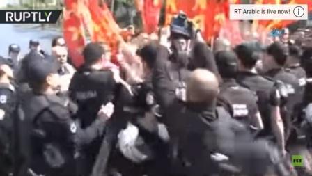 صدامات في تركيا بين الأمن والعمال في عيدهم