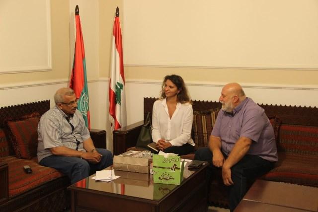أسامة سعد يطلع على أنشطة اللجنة الدولية للصليب الاحمر