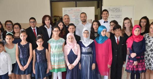 Piano Idol Competition على مسرح باسل الاسد لتلامذة الاستاذة يولا صوفان