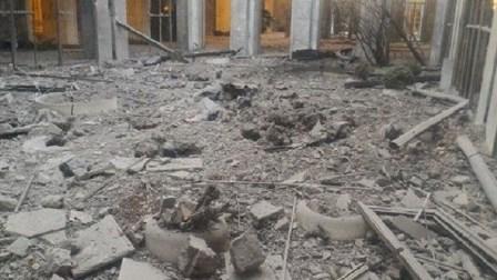 بالفيديو.. لحظة قصف البرلمان التركي