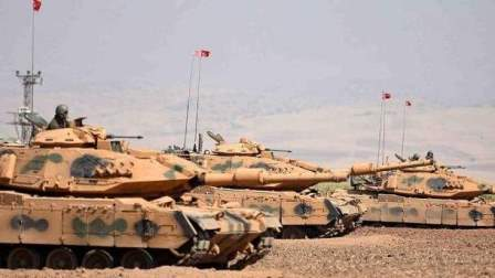 الجيش التركي يقيم 14 نقطة آمنة شمال غرب إدلب