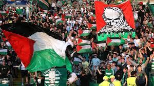 فيديو... علم فلسطين في الدوري الاسكتلندي!
