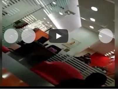 بالفيديو - عملية سطو مسلح على البنك اللبناني السويسري في بئر حسن