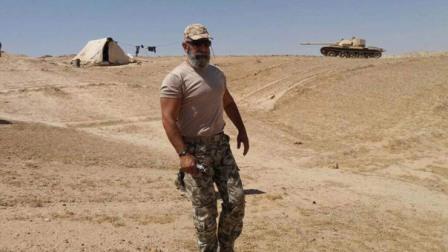 استشهاد قائد قوات الحرس الجمهوري السوري العميد عصام زهر الدين في دير الزور
